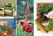 Idées recyclage créatif et bricolage / Le plein d'idées de recyclage créatif et bricolage! Laissez-nous vous inspirer et libérez votre créativité...