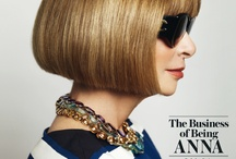 "Anna Wintour-The woman behind The Fashion Bible ""Vogue"" / by Nuarat Nasreen"
