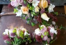 Wedding flowers / Wedding flowers created by the Ladies at Green Fingers x