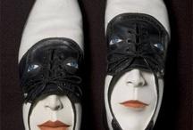 Shoe sculptures