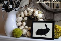 Easter decorations / by Beth Fellenz Bradley