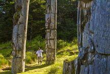 Haida Gwaii kayaking / Kayaking in Haida Gwaii