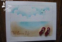 Cards: Beach and The Sea / by Jean Ann