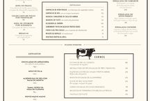 menu text