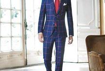 Blue Check Suit