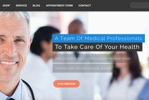 Medical Website Designs / Web designs to suit Medical Centres, Dentists, Optometrists, Physiotherapy Clinics etc. Designs built to generate mre appointments for professionals and businesses in the medical practice.