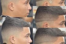 miesten/poikien hiusmallit