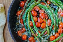 New ways with veg! / Asparagus & tomatoes
