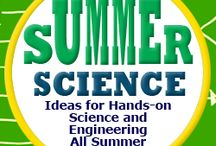 Summer Science / Teach a summer science program?  Maybe these pins will help.