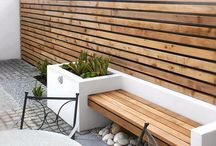 Garden - raised beds and benches