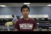 Videos from Sherman / Videos by students, faculty and organizations about Sherman / by Sherman College of Chiropractic