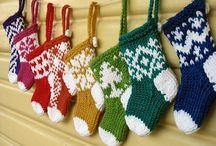 mini botas natal