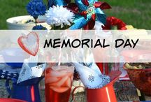 Memorial Day / Memorial Day recipes, Memorial Day home decor, Memorial Day party decorations, Memorial Day Books