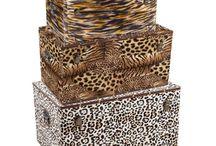 Animal Print / Complementos de decoración en estampado animal print en www.cosasdecasa.tienda