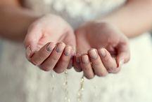 Свадебный маникюр  Wedding manicure