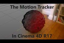 C4D - Motion Tracker