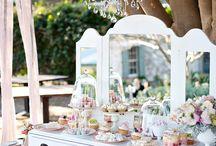 Wedding sweets corner