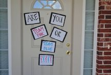 Gender reveal party / by Heather Johannes