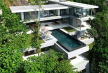 Dream Homes / Homes I would have if money were no object. One for every mood.