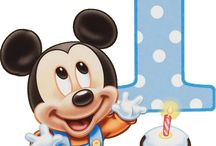 Festa Mickey Mouse Baby