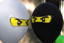 Birthdays / A collection of ideas for party fun: pirates, ninjas, LEGO themed and whatever comes next!