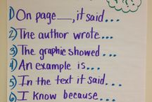school anchor charts / by Christina Brown