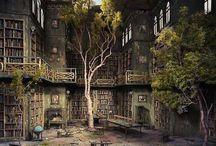 Bookshelves / Ces bibliothèques qui nous font rêver...