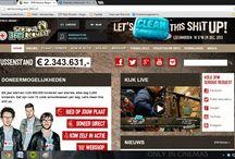 Websites / Hier zijn alle screenshots van websites die gemaakt zijn voor Onze Mix.