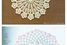Crochet grannies-blocks-circles