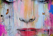 Color splash! / Painting inspiration..
