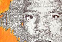 Letter portret