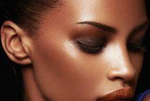 inspo dark skin makeup