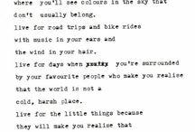 words. / by darcy hughes