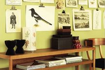 Home - Study/Library/Piano Room / Ideas for decorating our front room. / by Jodi Bonjour  (Sew Fearless)