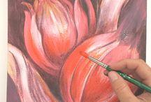 Paint, Draw, Print / My working process