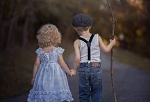 kinders in tuine