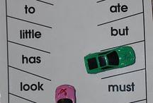 "Sight Words & ""Criminal Words"" / by The Cloverleaf School"