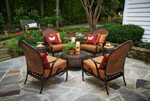 Westwood Patio Furniture / The Westwood Collection is characterized by curved, rolling arms, and a handsome blend of colors. The frames are hand woven by artisans using our premium, resin wickers which are engineered for outdoor use. All frames are hand made and hand painted creating a finish that looks similar to a deep, rich wood grain. Cushions are 100% spun polyester with Sunbrella premium performance outdoor fabric and are resistant to mildew and color fade.