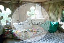 San Valentino / idee  e regali originali per chi ama viaggiare