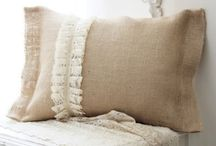 I am LOVING Burlap!!!