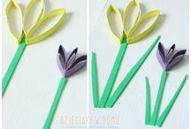 Jaro / výtvarné nápady