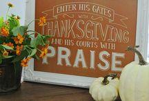 Thanksgiving / Thansgiving holiday