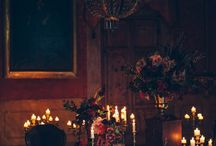 Gothic Romance Styled Wedding