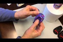 Video Tutorials for AG doll shoes, hats, panties / You tube videos to help make doll items. / by Donna Cotterman
