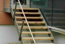 Außen Treppe