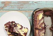 Pcheesecake brownie