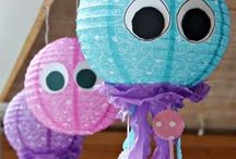 Audrinas 5th Birthday / Under The Sea Theme / by Laura Forguson