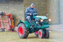 home made traktor / traktor na zahradu