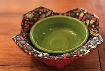Microwave sewn bowl for microwave