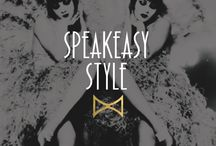 Speakeasy Style / Liven up your next event with our speakeasy and prohibition-style home decor tips and tricks.